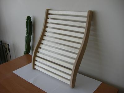 Art.number 048 ergonomic backrest with TERMO and aspen. Height 51 cm , width 40 cm