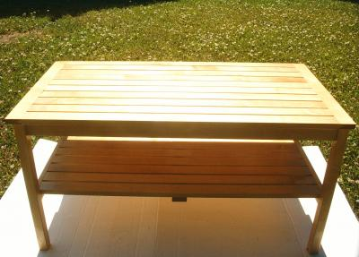 Number 050 bench birch or dark alder for bath rooms
